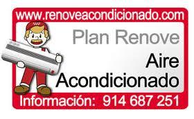 Arte y Clima, empresa instaladora adherida al PLAN RENOVE de equipos de aire acondicionado de la Comunidad de Madrid