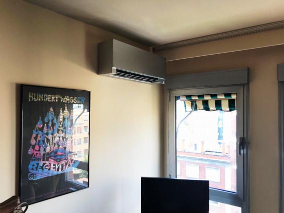 instalacion aire acondicionado piso